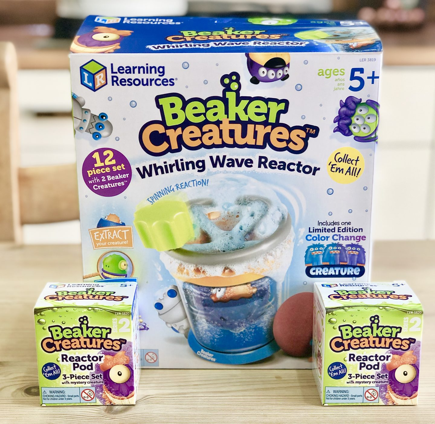 Learning Resources – Beakers Creatures Whirling Wave Reactor Review