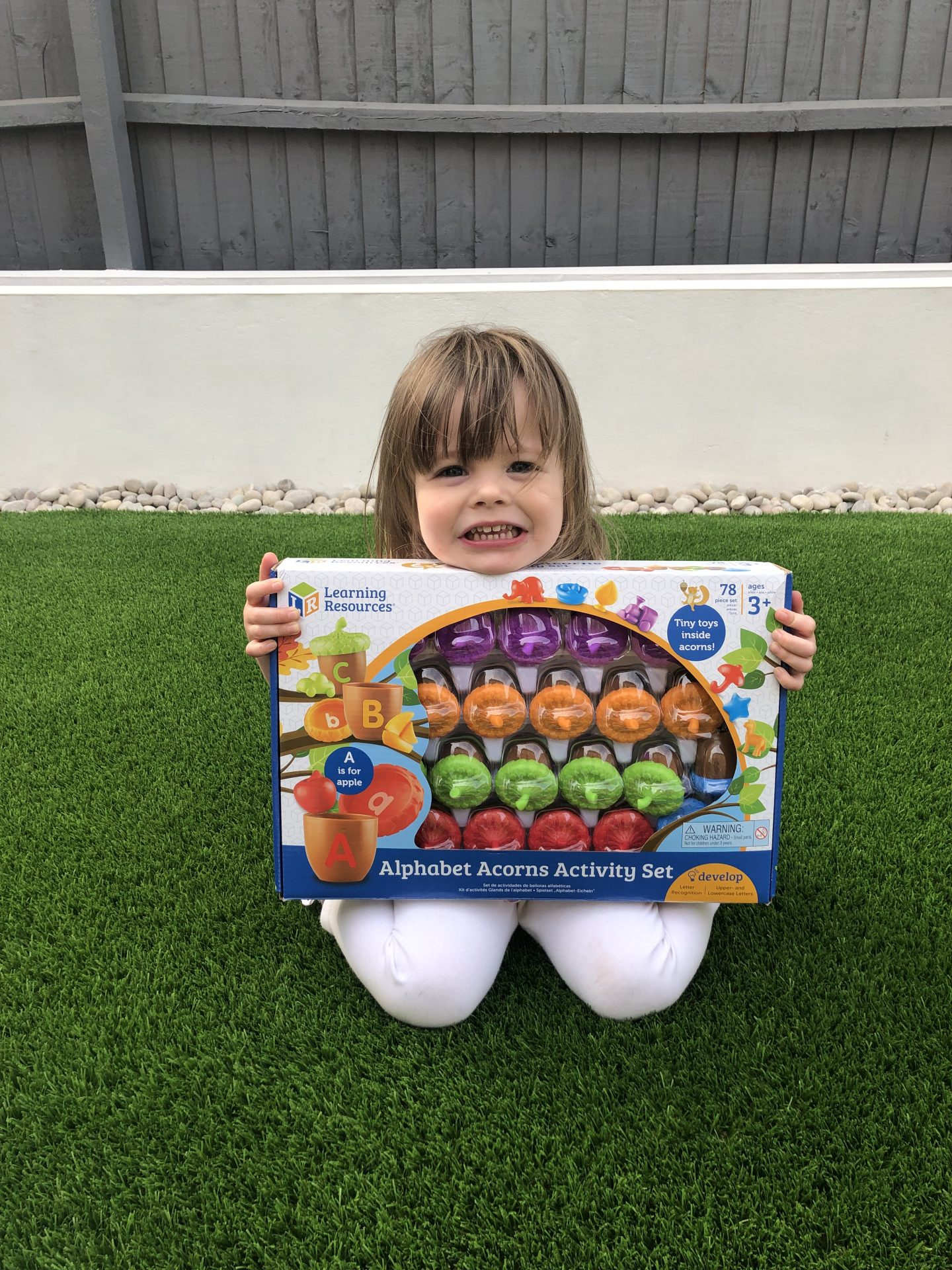 Learning Resources – Alphabet Acorns Activity Set